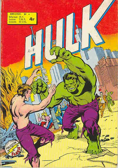 Couverture de Hulk (1re Série - Arédit - Flash) -4- Dédoublement