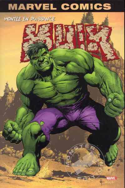 Couverture de Hulk (Marvel Monster Edition) -1- Montée en puissance