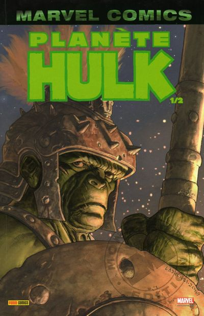 Couverture de Hulk (Marvel Monster Edition) -3- Planète Hulk 1/2