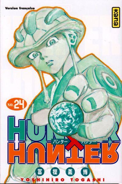 Couverture de Hunter X Hunter -24- Tome 24