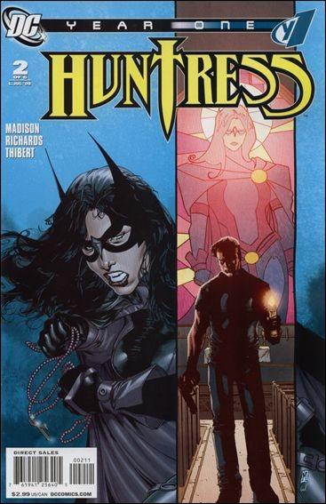 Couverture de Huntress Year One -2- La donna e mobile