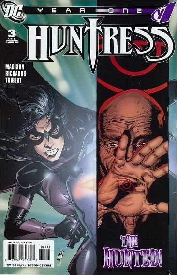 Couverture de Huntress Year One -3- Respect