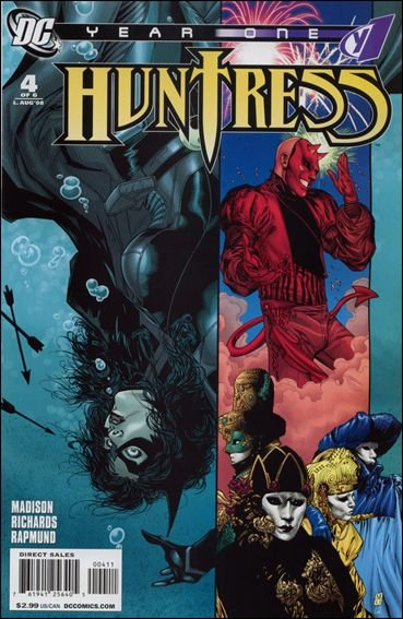 Couverture de Huntress Year One -4- To the edge