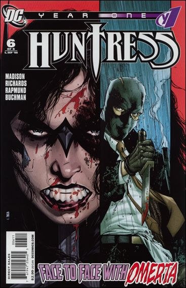Couverture de Huntress Year One -6- The prodigal daughter returns
