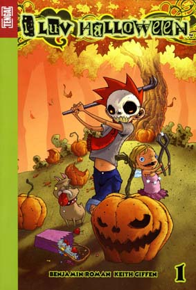 Couverture de I Luv Halloween -1- Tome 1