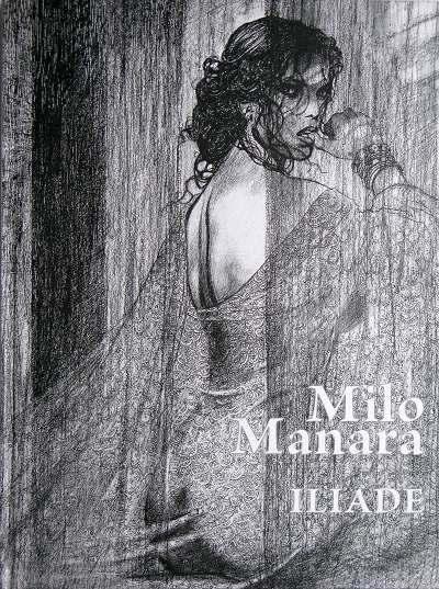 Couverture de Iliade (Manara) -TL- Iliade