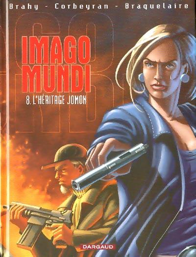 Couverture de Imago Mundi -8- L'héritage jomon