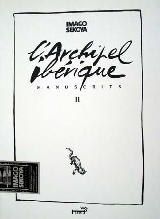 Couverture de Manuscrits -2- L'Archipel ibérique