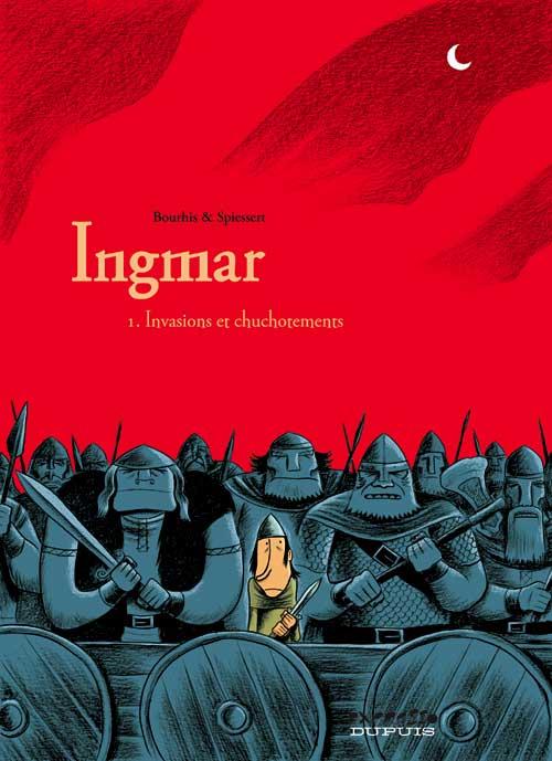 Couverture de Ingmar -1- Invasions et chuchotements