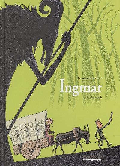 Couverture de Ingmar -2- Crâne Noir