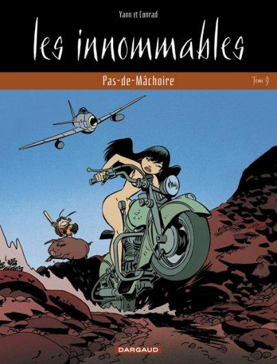 Couverture de Les innommables (Série actuelle) -9- Pas-de-Mâchoire