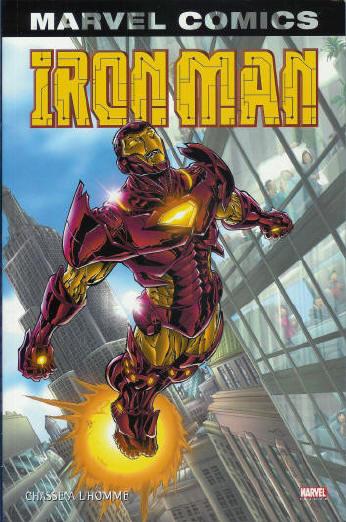 Couverture de Iron Man (Marvel Monster Edition) -1- Chasse à l'homme