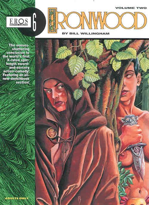 Couverture de Ironwood (1991) -2- Ironwood volume 2