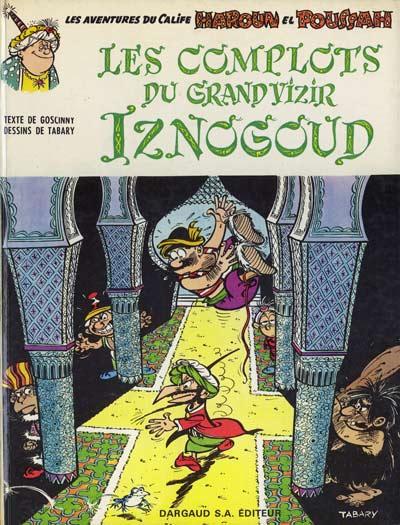 Couverture de Iznogoud -2- Les complots du grand vizir Iznogoud