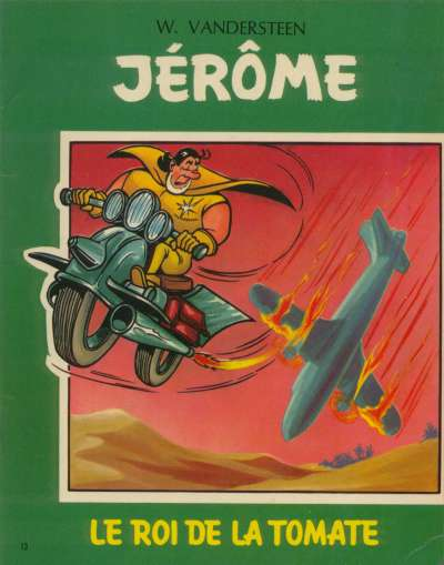 Couverture de Jérôme -13- Le roi de la tomate