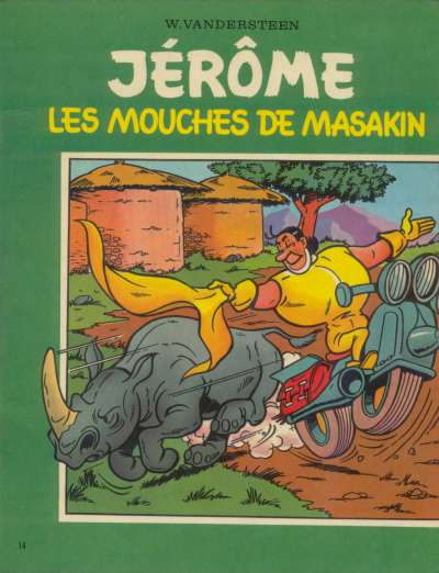 Couverture de Jérôme -14- Les mouches de Masakin