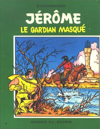 Couverture de Jérôme -15'- Le guardian masqué