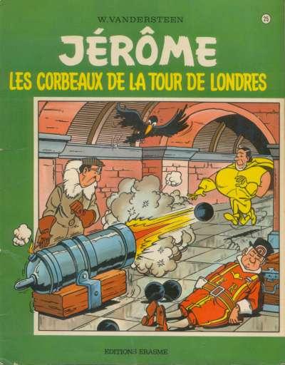 Couverture de Jérôme -25- Les corbeaux de la tour de Londres