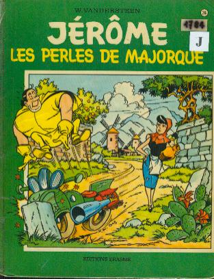 Couverture de Jérôme -26- Les perles de Majorque