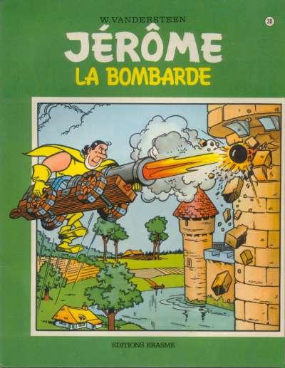 Couverture de Jérôme -30- La bombarde