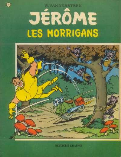 Couverture de Jérôme -47- Les Morrigans