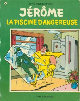 Couverture de Jérôme -49- La piscine dangereuse
