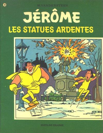 Couverture de Jérôme -52- Les statues ardentes