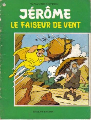 Couverture de Jérôme -61- Le faiseur de vent
