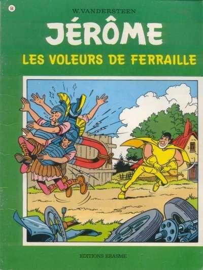 Couverture de Jérôme -64- Les voleurs de ferraille