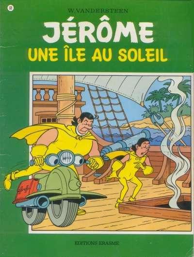 Couverture de Jérôme -68- Une île au soleil