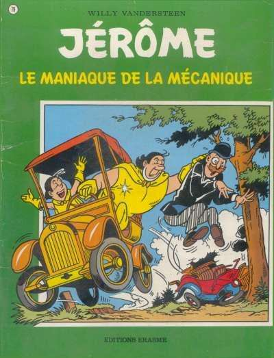 Couverture de Jérôme -79- Le maniaque de la mécanique