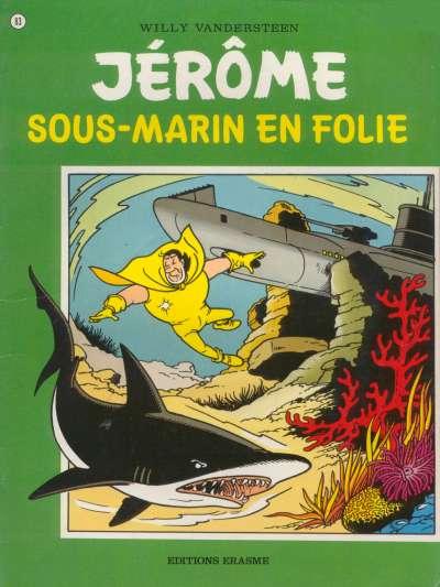 Couverture de Jérôme -83- Sous-marin en folie