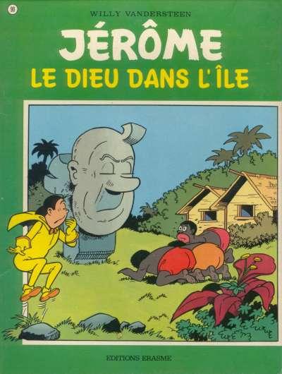 Couverture de Jérôme -90- Le Dieu dans l'île
