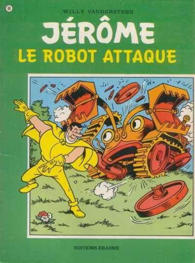 Couverture de Jérôme -88- Le robot attaque