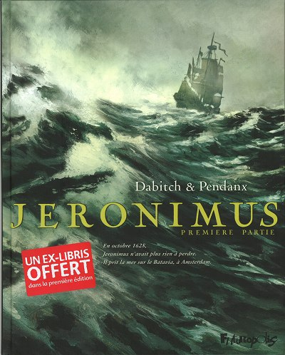 Couverture de Jéronimus -1- Première partie