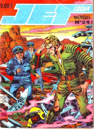 Couverture de Jet Logan (puis Jet) -24- La Terre vivra !!