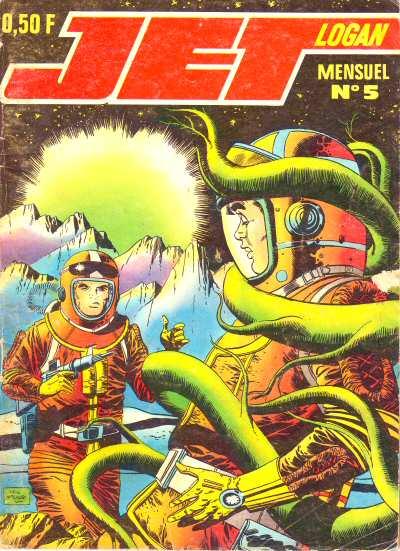 Couverture de Jet Logan (puis Jet) -5- Monstres de l'espace