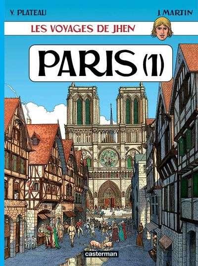 Couverture de Jhen (Les voyages de) -2- Paris (1)