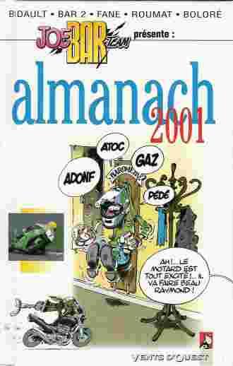 Couverture de Joe Bar Team -HS4- Almanach 2001
