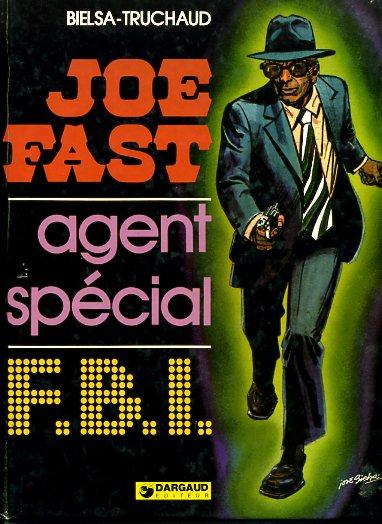 Couverture de Joe Fast -1- Joe Fast, agent spécial F.B.I.