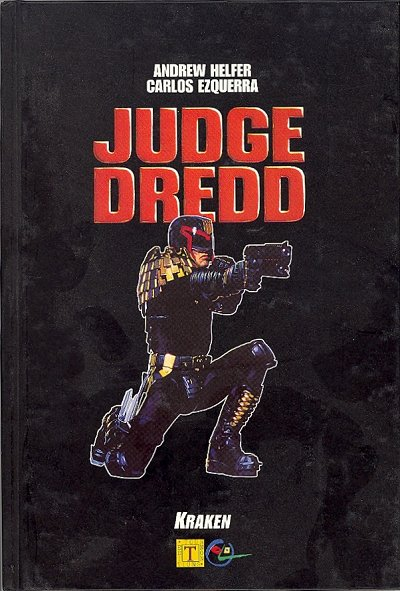 Couverture de Judge Dredd (Kraken) - Judge Dredd