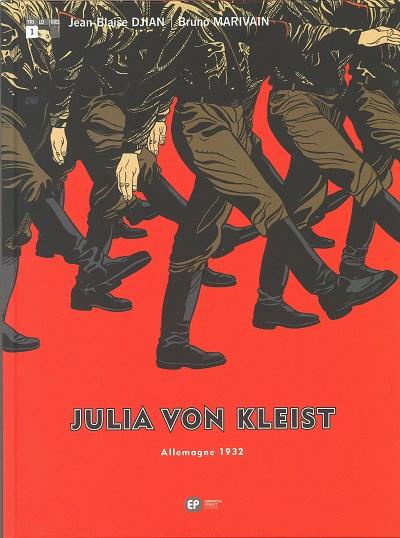 Couverture de Julia von Kleist -1- Livre 1. Allemagne 1932