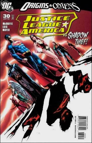 Couverture de Justice League of America (2006) -30- Welcome to sundown town, chapter 3: new moon rising