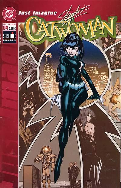 Couverture de Just imagine Stan Lee's... -4- Catwoman