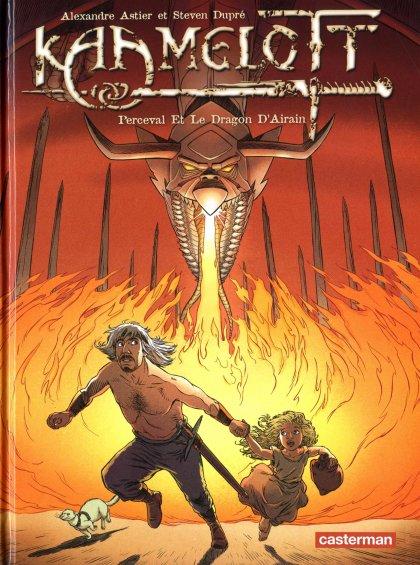 Couverture de Kaamelott -4- Perceval et le dragon d'Airain