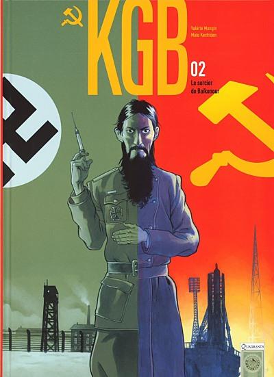 Couverture de KGB -2- Le sorcier de Baïkonour