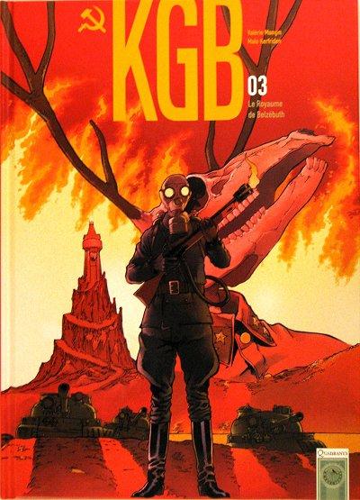Couverture de KGB -3- Le royaume de Belzébuth