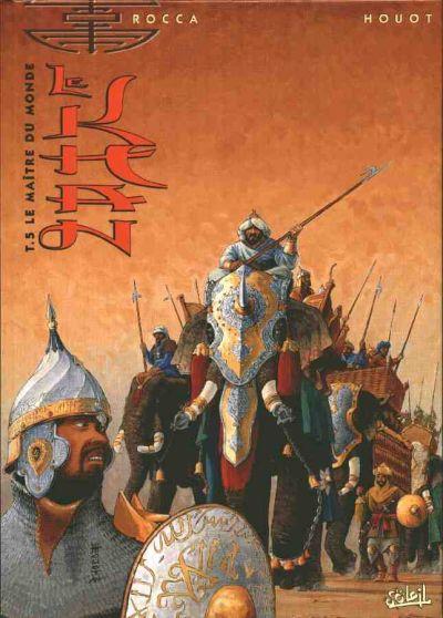 Couverture de Le khan -5- Le maître du monde