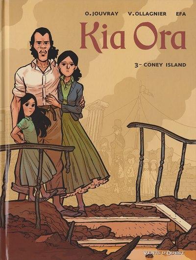 Couverture de Kia Ora -3- Coney Island
