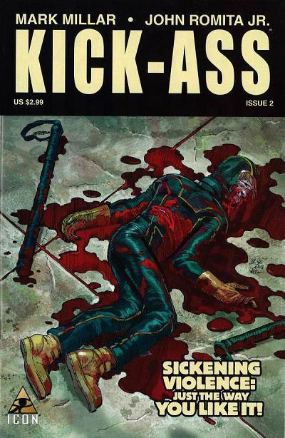 Couverture de Kick-Ass (2008) -2- Kick-ass #2
